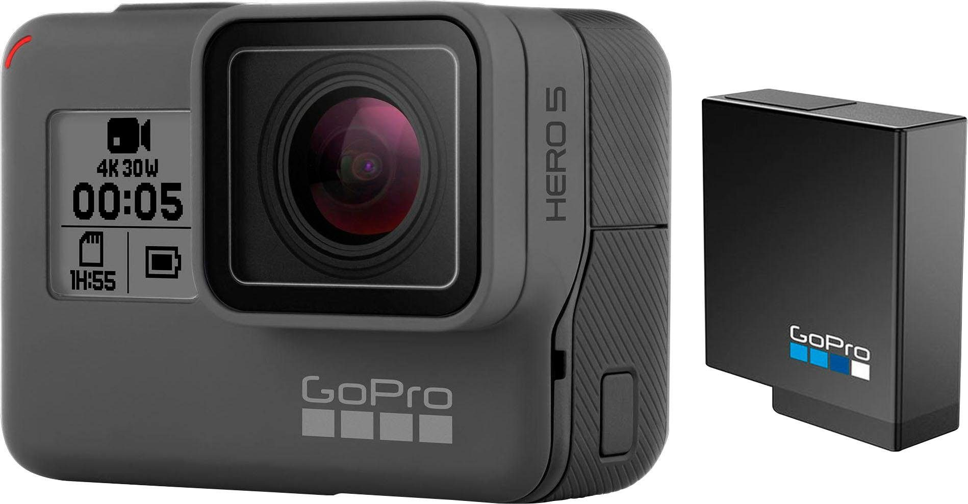GoPro »HERO5 Black Chesty Bundle« Action Cam (4K Ultra HD, WLAN (Wi-Fi), Bluetooth)